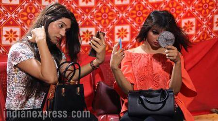india's trans woman beauty pageant, first trans woman beauty pageant, transwomen in india, transwoman india, saiba ansari, navya singh sodhi, gender identities in india, indian express, indian express news