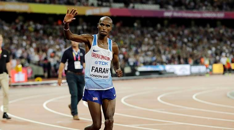 Mo Farah, World athletics championship, world championship, mo farah retire, cricket news, sports news, indian express