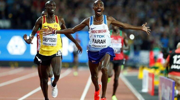 World Athletics Championships, Mo Farah, Paul Tanui, Kenya