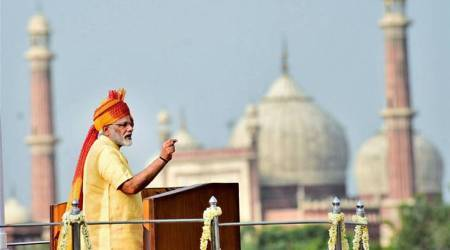 Shiv Sena takes dig at PM Modi's I-Day address, asks Centre to abolish article 370