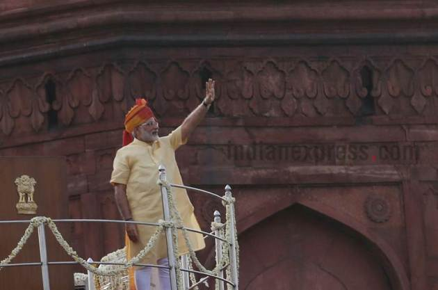 Independence Day Pics, Independence Day Photos, Independence Day Images 2017, modi images, modi red fort, Independence Day 2017 Pics, India Independence Day Picture, 70th Independence Day, 71st Independence Day, India News, Indian Express, Indian Express News