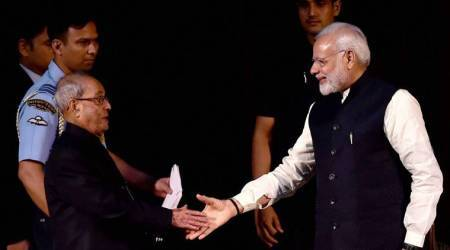 PM Narendra Modi writes emotional letter to Pranab Mukherjee: You have been a father figure to me