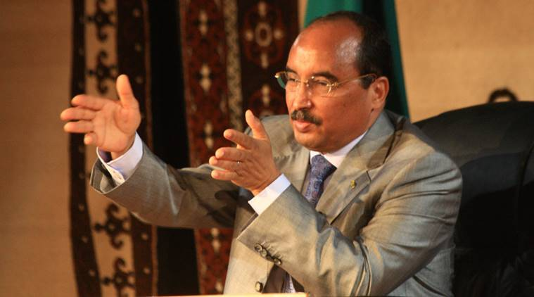 Mauritania, President Mohamed Ould Abdel Aziz, Mauritania constitution, Mauritania constitution vote, World news, Indian Express news