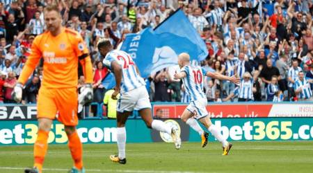 huddersfield town, newcastle united, huddersfield vs newcastle, english premier league, epl, football news, sports news, indian express