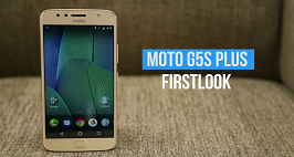Moto G5S Plus First Look