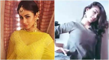 VIDEO: Mouni Roy's performance on Mere Rashke Qamar will remind you of Madhuri Dixit's Maar Dala