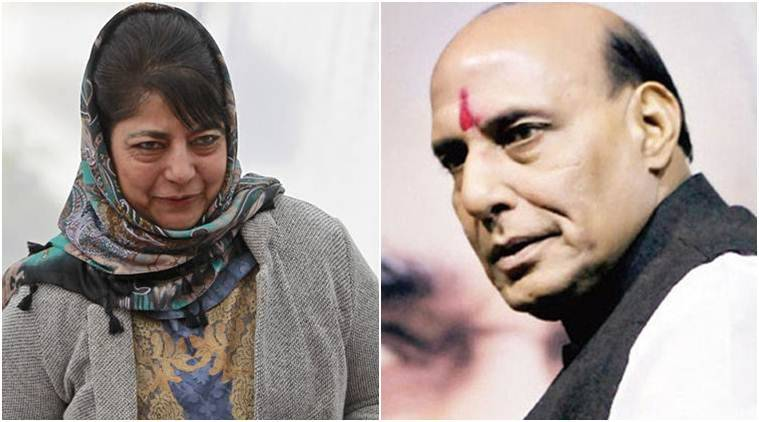 mehbooba Mufti, kashmir, Article 370, Jammu and kashmir, J-K, Rajnath Singh, NN Vohra, PM Modi, Kashmir issue,
