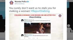 mumbai police, mumbai police twitter, #ReportStalking, woman tweets to mumbai police, indian express, indian express news