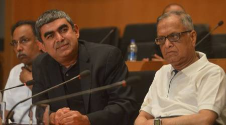 Infosys war out in open, CEO Vishal Sikka quits, board blames Murthy