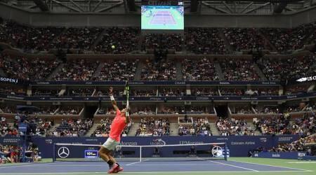 Rafa Nadal unhappy with noise under US Open roof