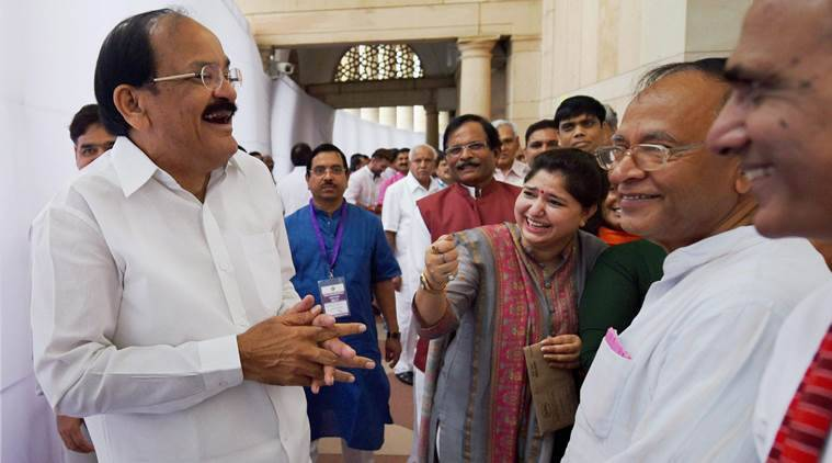Venkaiah Naidu, Vice Presidential elections, Vice presidential election results, Venkaiah Naidu, Gopalkrishna Gandhi, Vice Presidential election, Vice Presidential election live updates, Congress, BJP