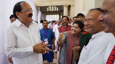 Vice-Presidential Election highlights: Promise to uphold high standards set by my predecessors, says VenkaiahNaidu