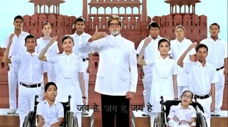 WATCH: Amitabh Bachchan stars in this national anthem video beautifully sung in sign language