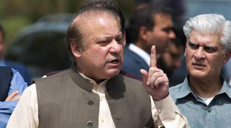 Nawaz Sharif, Former Pakistan PM Nawaz Sharif, Nawaz Sharif's Disqualification, Former Pakistan PM's Disqualification, Pakistan News, Latest Pakistan News, Indian Express, Indian Express News