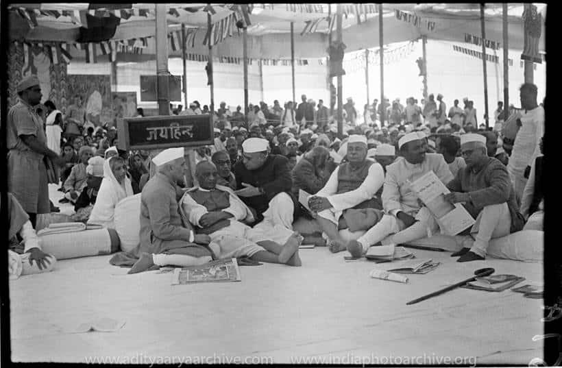 sardar patel, jawaharlal nehru, kulwant roy, archival photos nehru