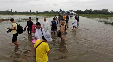 Around 200 Indian tourists among 600 stranded due to Nepal floods