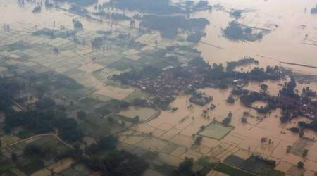 nepal floods, nepal floods rescue operation, nepal floods evacuation, nepal floods victim, nepal floods report