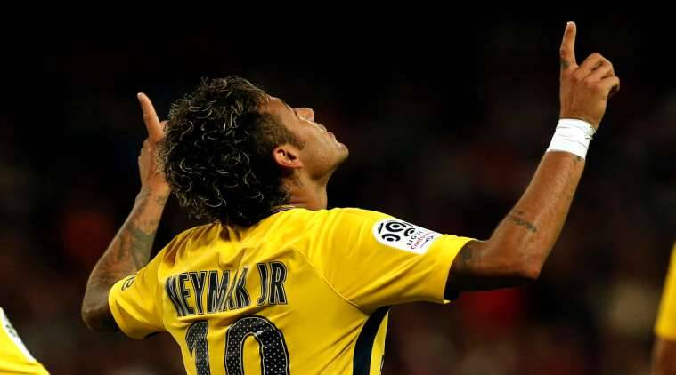 neymar, PSG, Neymar PSG debut, Ligue 1, football news, sports news, indian express
