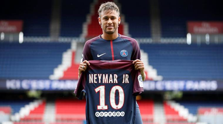 Neymar, barcelona, french football, PSG debut,  Unai Emery, French cup, indian express, sports news, football