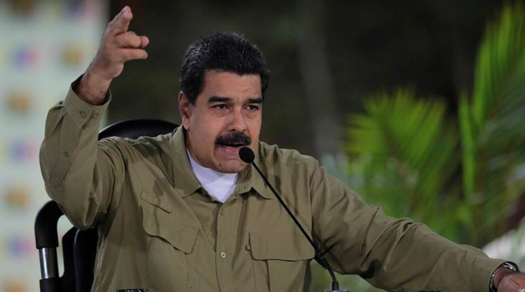 Donald Trump, Nicolas Maduro, Venezuela, Donald Trump Venezuela threat, President Nicolas Maduro, US-Venezuela, Venezuela Military action threat, World news, Indian Express news