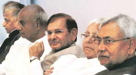 Sharad Yadav, Nitish Kumar, JD(U), Grand Alliance