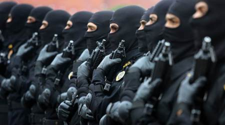 black cat commandos, nsg, jammu and kashmir, crpf, ministry of home affairs, indian army, black cat commandos to be deployed in kashmir, indian express