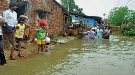 Heavy rains in Odisha, flood-like situation in 3districts
