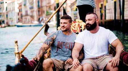 This former Olympic diver and his boyfriend's love story is winning hearts on Instagram