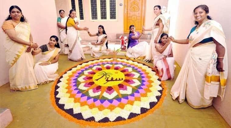 Onam, onam dates, thiruvonam, onam celebration, grand feast, nine course meal, Kerala. demons, god, Indian express, Indian express news