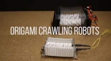 Origami, robot, University of Illinois, bacteria