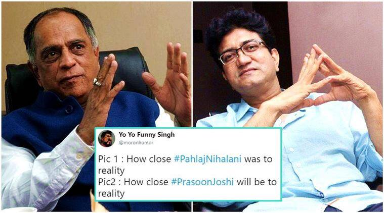 Prasoon Joshi Speaks Up On Replacing Pahlaj Nihalani As CBFC Chief!