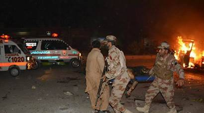 Suicide blast rips through Quetta: 15 dead, dozens injured