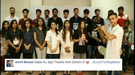 Video: Watch Pakistani students singing Indian national anthem Jana Gana Mana