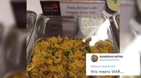 Pune eatery serves up PASTA BIRYANI! The Internet is justifiably FREAKING OUT!