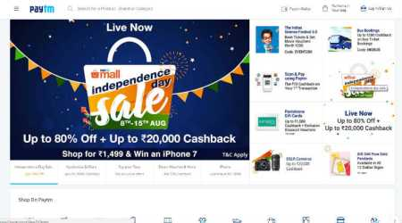 Paytm, Paytm Independence Day sales, Paytm sale, Paytm discounts, Apple iPhone 7 discounts