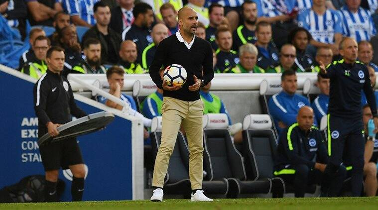 Pep Guardiola, Manchester City, Premier League, sports news, football, Indian Express