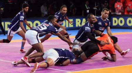 Pro Kabaddi season 5, Bengaluru Bulls, UP Yoddha, U Mumba, Dabang Delhi, sports news, kabaddi, Indian Express