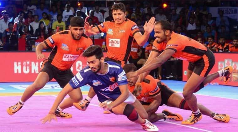 Pro Kabaddi season 5, U Mumba vs Dabang Delhi, sports news, kabaddi, Indian Express
