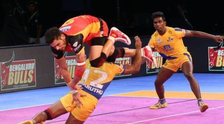 Pro Kabaddi 2017 Nagpur leg wrap: Bengaluru Bulls scrape through home leg, Pardeep Narwal's dazzling performance and much more