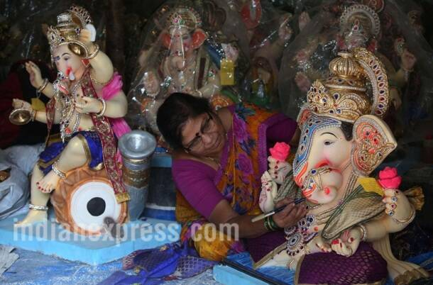 ganesh chaturthi, ganesh idols, ganesh pics, ganesh utsav mandal, ganesh chaturthi images, ganesh chaturthi photo, Chinchpokli Chintamani, indian express