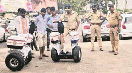 Police to patrol Marine Drive on segways