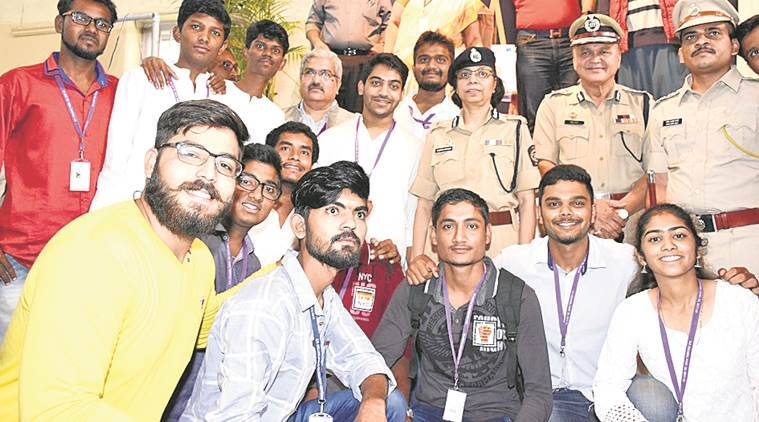 police kaka, pune police, pune, indian express news