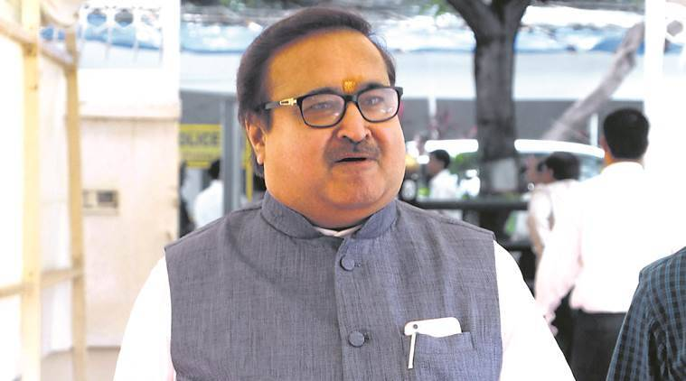Congress, Prakash Mehta, Housing Minister Prakash Mehta resignation, opposition on Prakash Mehta, Sanjay Nirupam