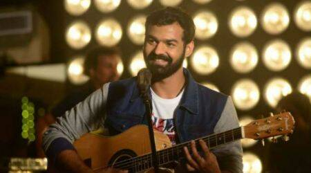 Aadhi on-set pictures: Pranav Mohanlal gets a new makeover for his debut film