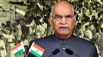 Ram Nath Kovind, Hindi Diwas, Hindi Day, Hindi, Hindi speakers, Regional languages, Kovind regional languages, India news, Indian Express