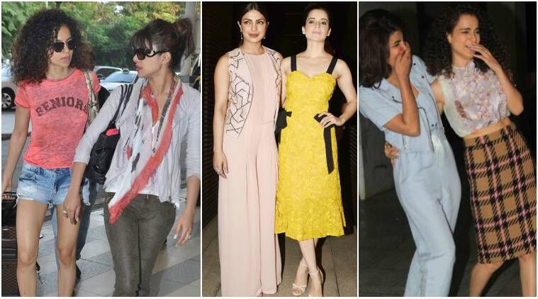 priyanka chopra, kangana ranaut, priyanka kangana, priyanka chopra kangana ranaut pics, bollywood friendsships, bollywood bffspriyanka chopra, kangana ranaut, priyanka kangana, priyanka chopra kangana ranaut pics, bollywood friendships, bollywood bffs