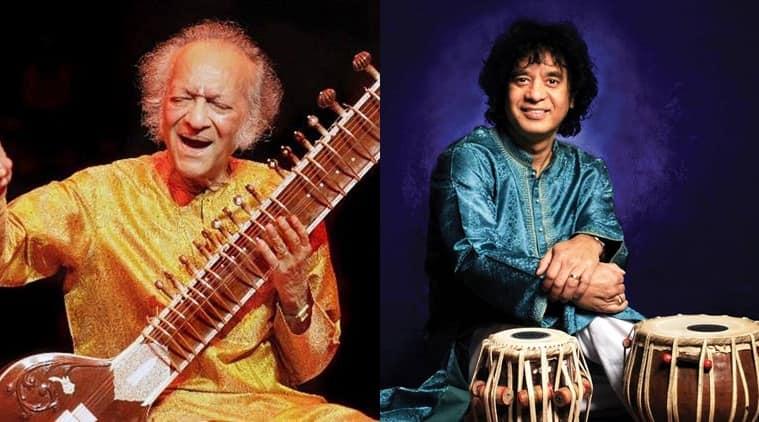 Pt Ravi Shankar, Zakir Hussain