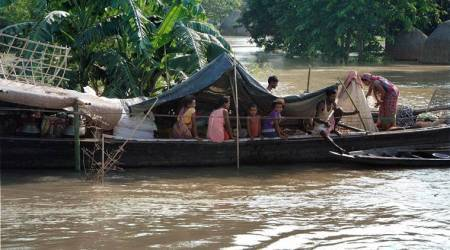 Heavy rain predicted for flood-hit Assam, Bihar makes slow recovery