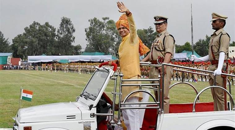 Shivraj Singh Chouhan, Madhya Pradesh CM, Independence Day, India news, Indian Express, undisputed revenue cases, compensationa