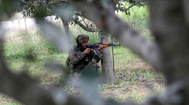J&K: Two terrorists killed, another surrenders in a gun battle in Shopian